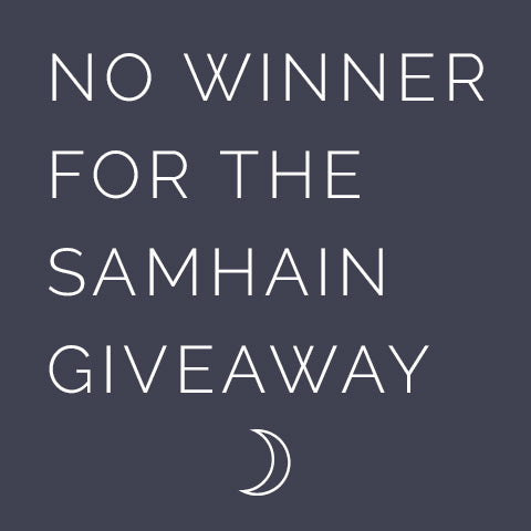 Samhain Super Sabbat Giveaway Winner - 2016