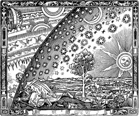 "Representation of going beyond ""The Veil"" during Samhain"