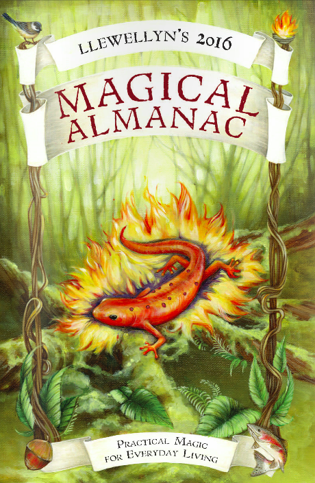 2016 Magical Almanac by Llewellyn