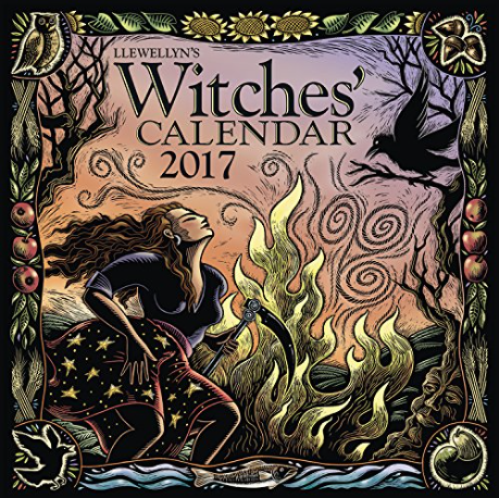 2017 Witches' Calendar by Llewellyn