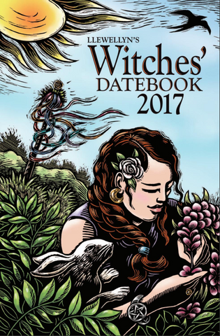 2017 Witches Datebook by Llewellyn
