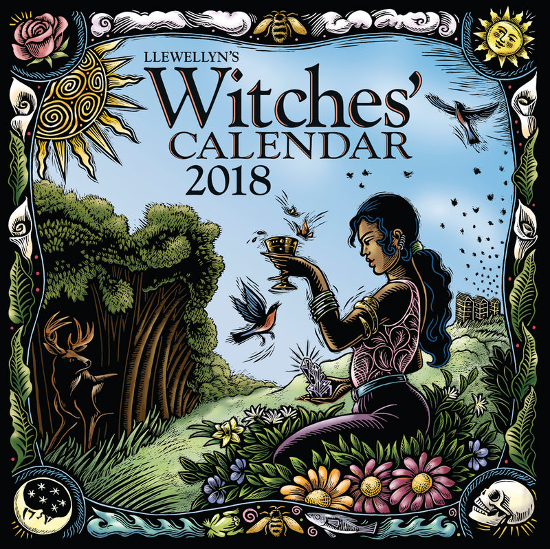 2018 Witches' Calendar By Lllewellyn - Sabbat Box