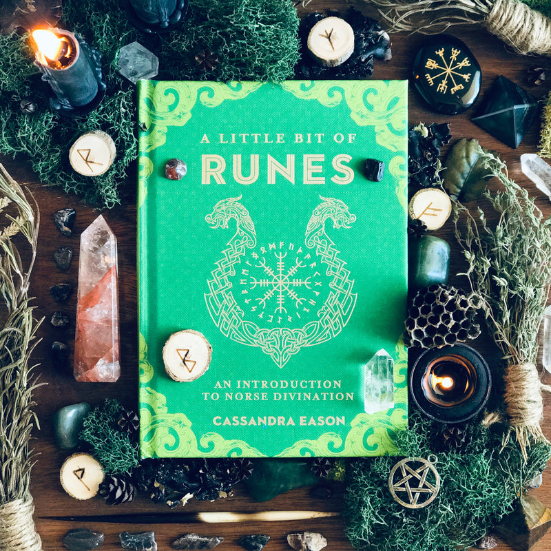 A Little Bit Of Runes By Cassandra Eason - Sabbat Box Beltane 2019