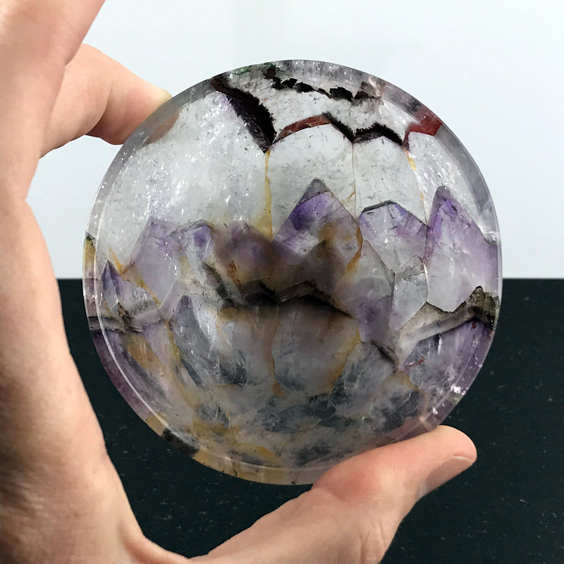 Amethyst Crystal Bowl #1 - Sabbat Box