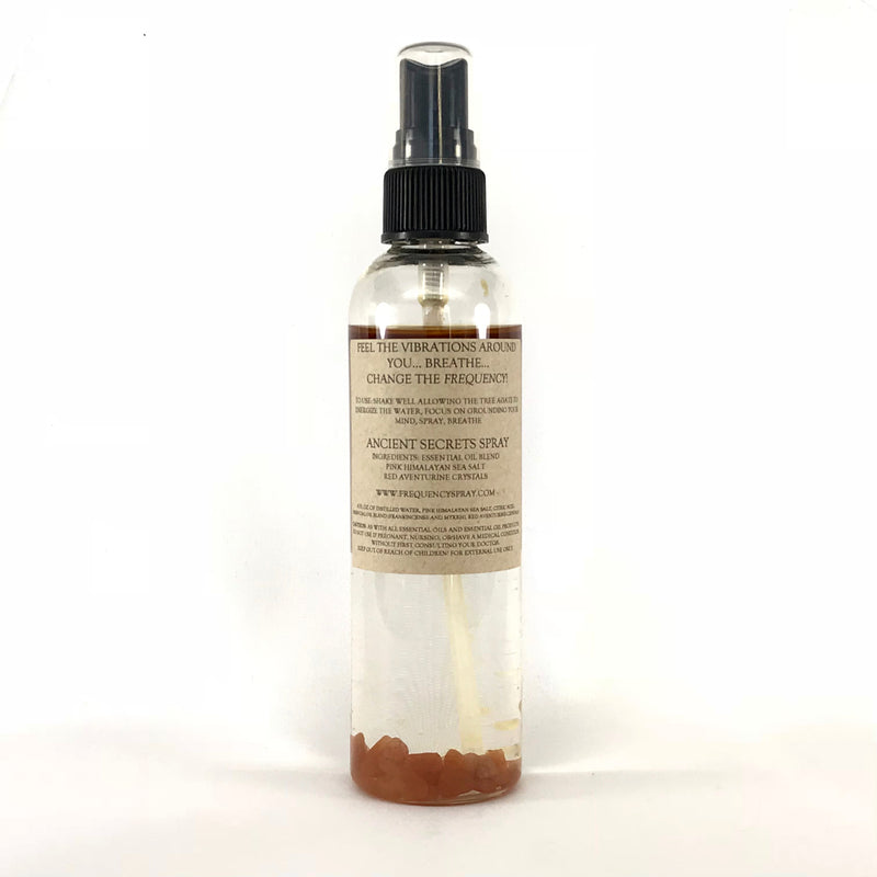 Ancient Secrets Smudge and Aura Spray By Frequency - 4oz. - Sabbat Box