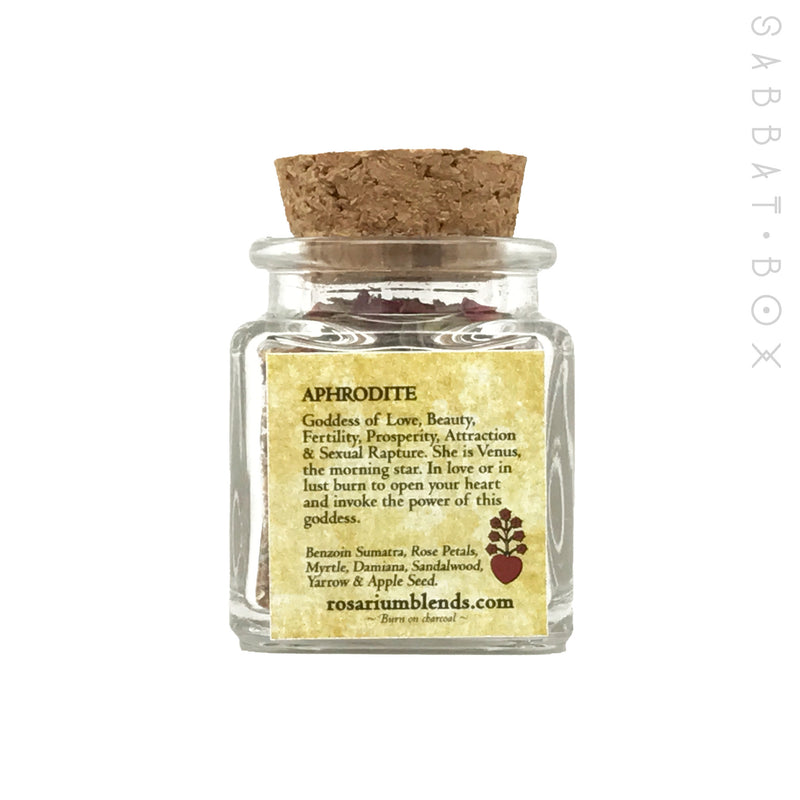 Aphrodite Incense By Rosarium Blends