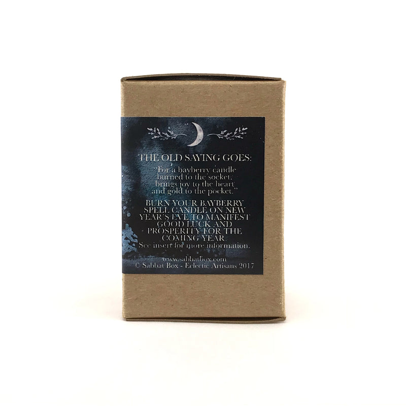 Pure Authentic Bayberry Votive Spell Candle