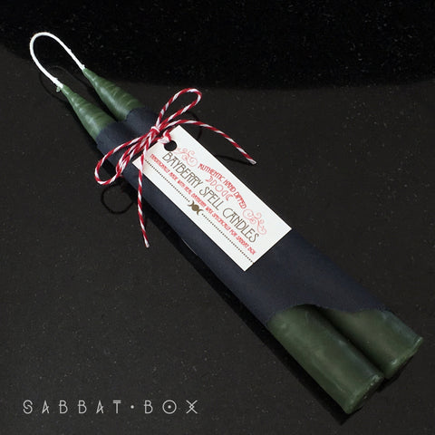 Authentic Bayberry Candles - Sabbat Box