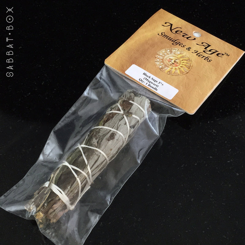 Black Sage Smudge Stick - Mugwort Smudge Stick