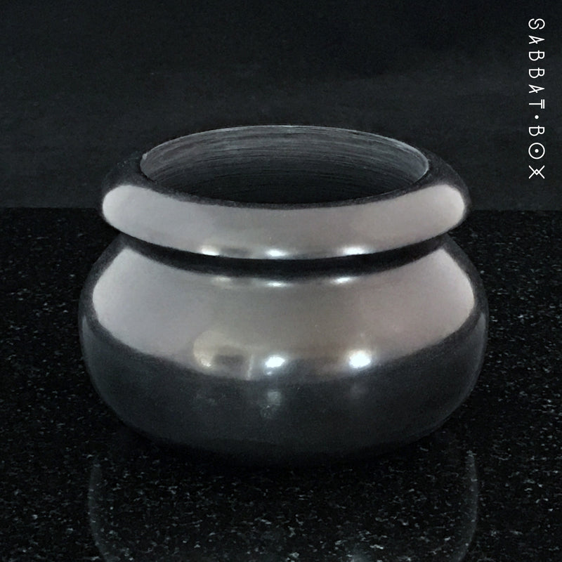 Black Stone Offering Bowl