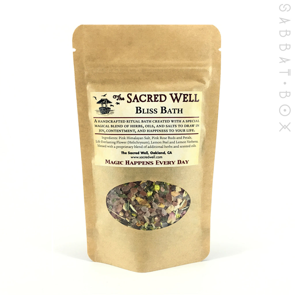 Bliss Ritual Bath By The Sacred Well - 4oz