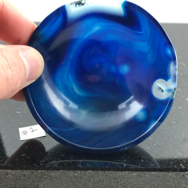 Blue Chalcedony Crystal Bowl 1 - Sabbat Box