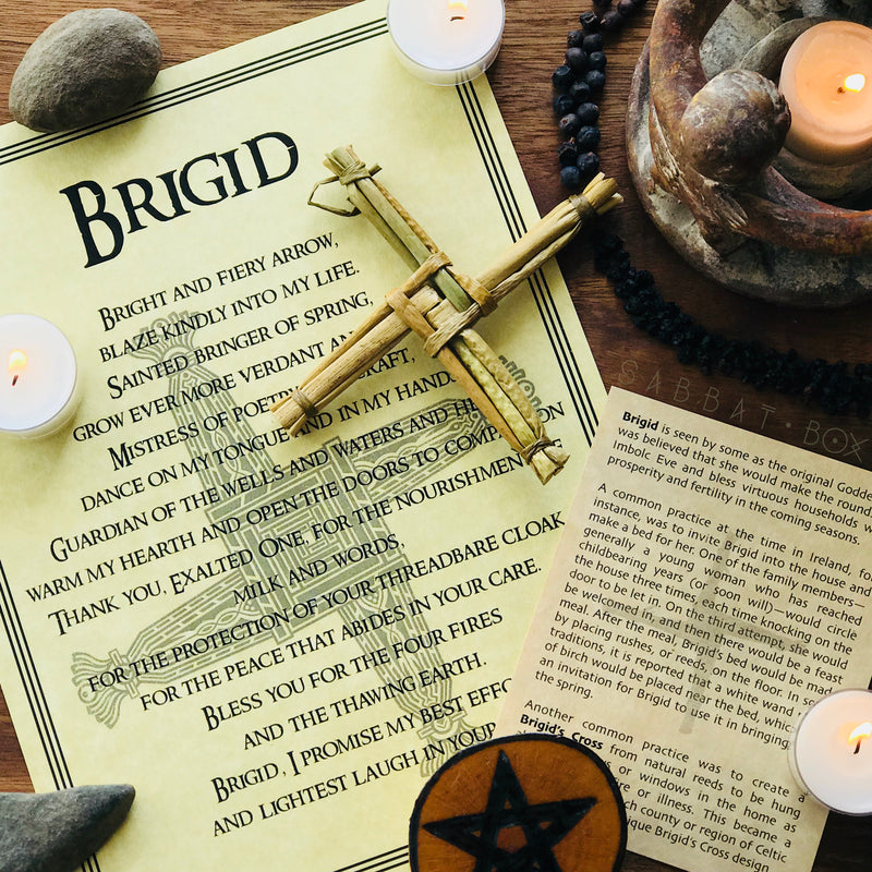 Brigid's Cross Sabbat Box