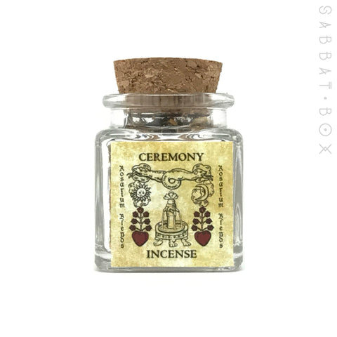 Ceremony Ritual Incense By Rosarium Blends