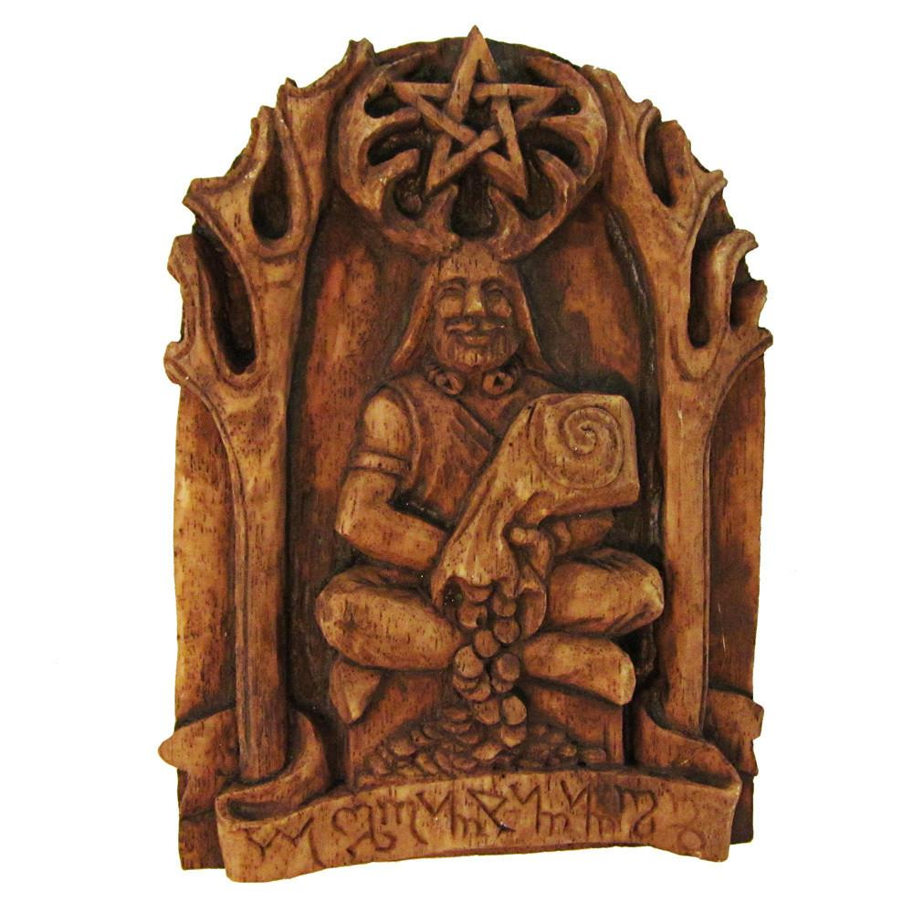 Cernunnos Horned God Plaque