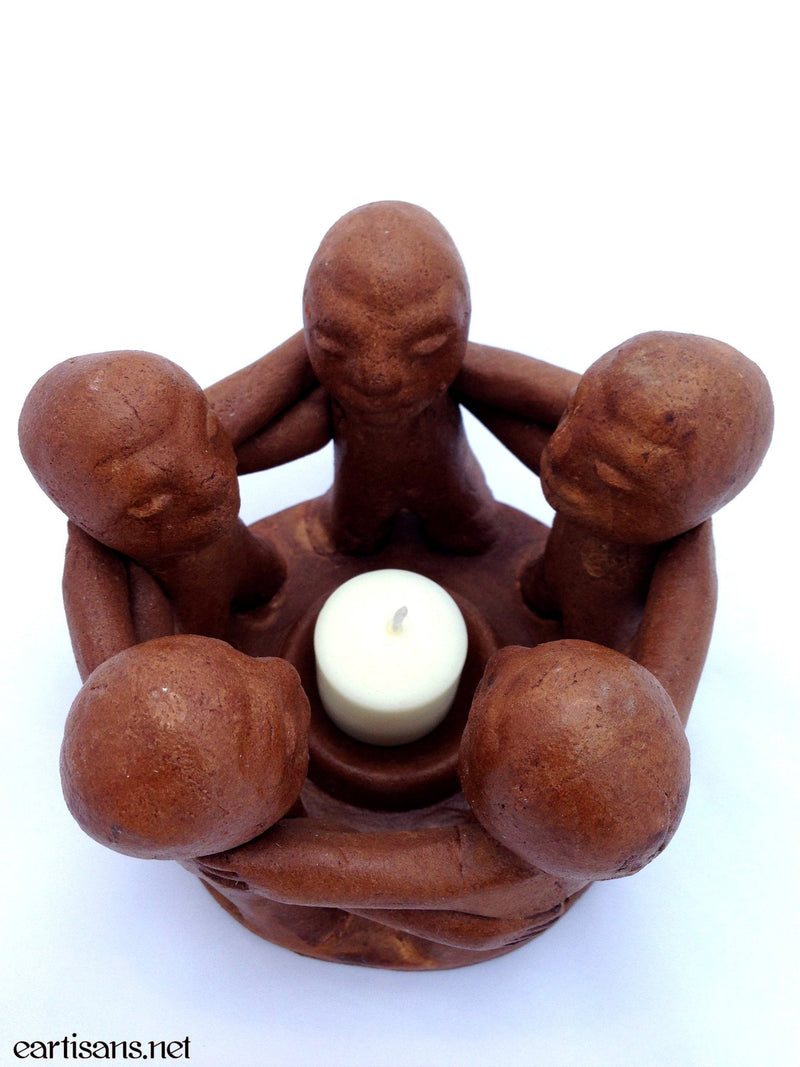 Votive Candle Holder Circle Of Friends