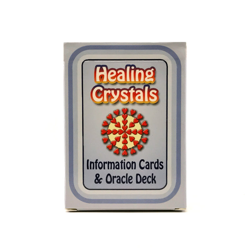 Healing Crystals Information Cards and Oracle Deck - Deck #1