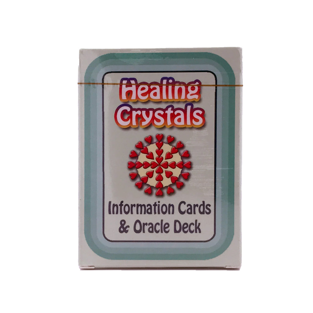 Healing Crystals Information Cards and Oracle Deck - Deck #2