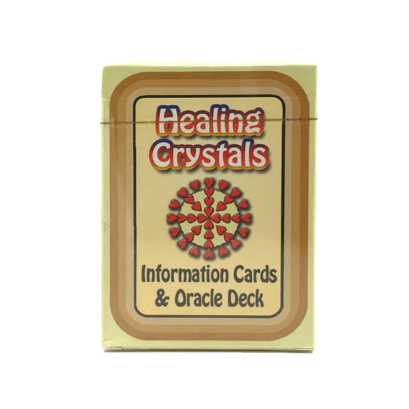Healing Crystals Information Cards and Oracle Deck #3