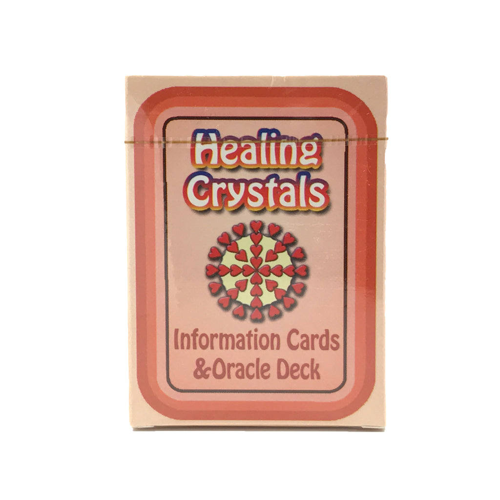 Healing Crystals Information Cards and Oracle Deck #4