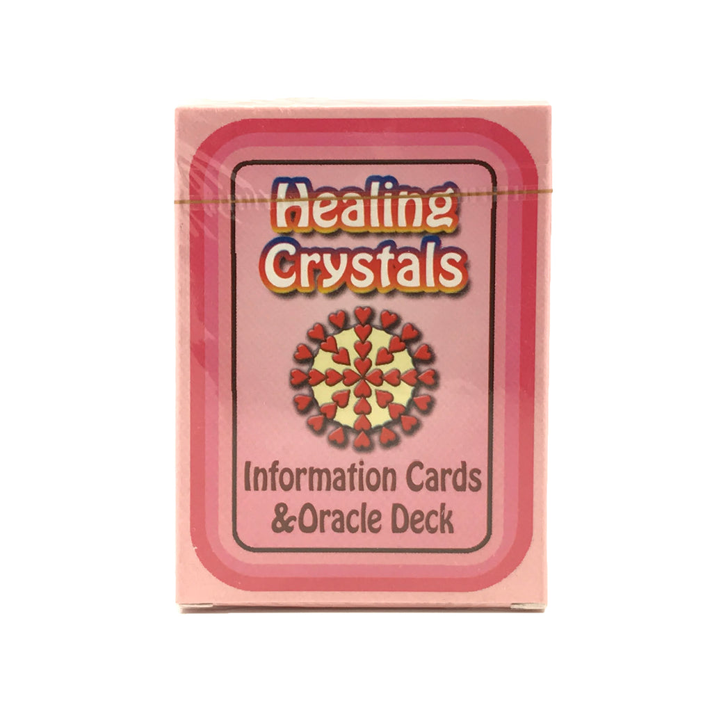 Healing Crystals Information Cards and Oracle Deck #5