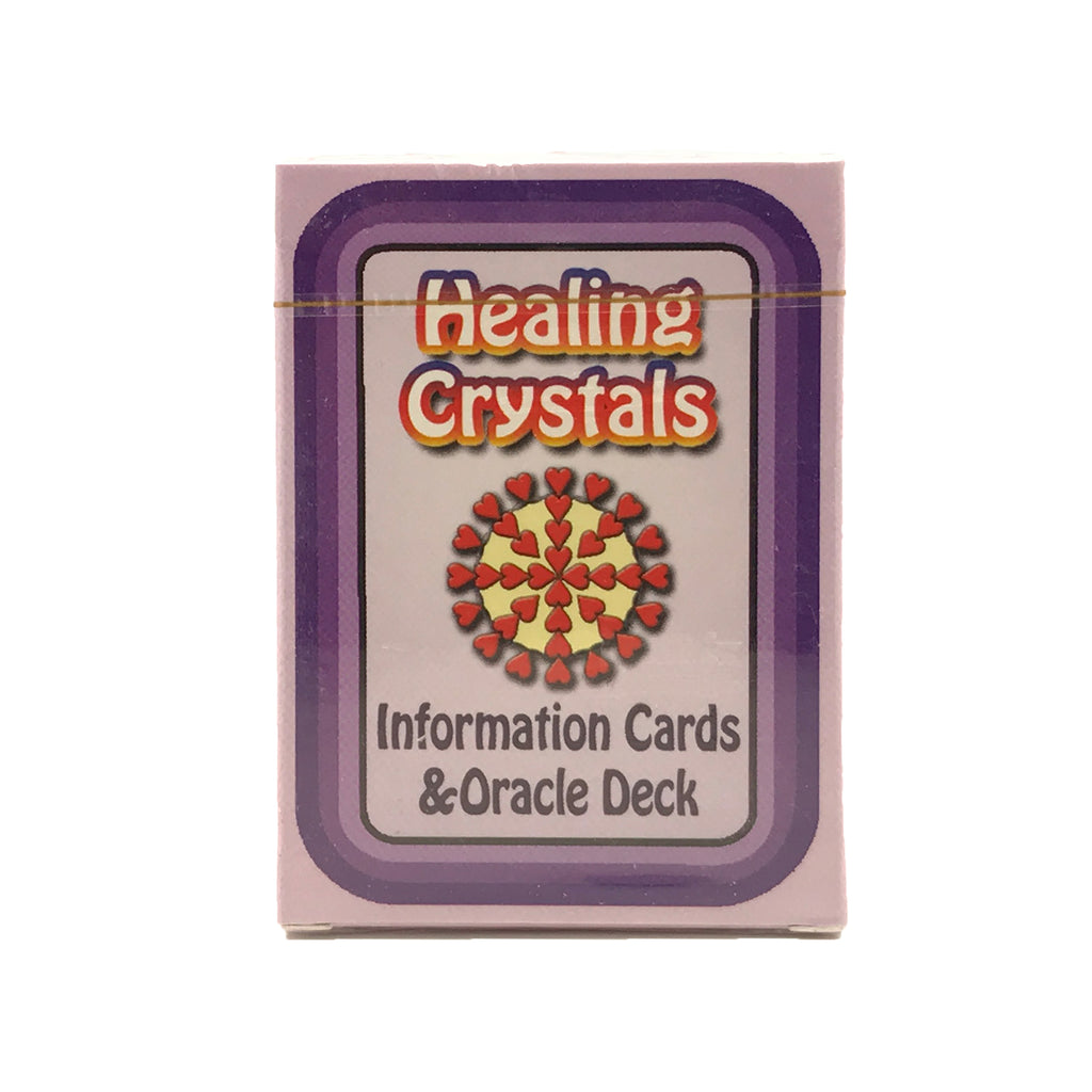 Healing Crystals Information Cards and Oracle Deck #6