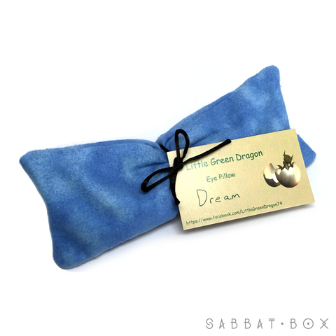 Dream eye pillow with lavender, chamomile and flax