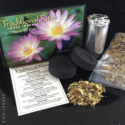Dreamscape Traditional Rites Loose Incense Kit