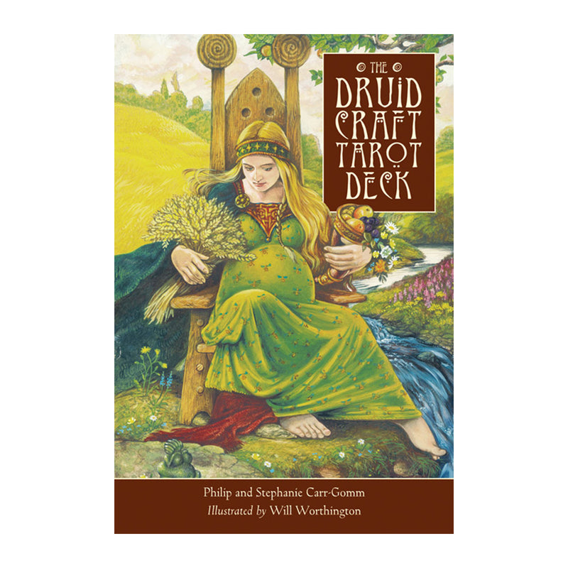 Druid Craft Tarot Deck By Philip and Stephanie Carr-Gomm - Sabbat Box