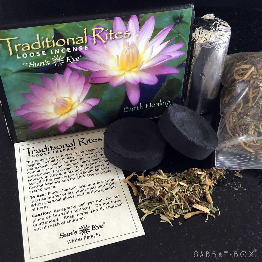 Earth Healing Traditional Rites Loose Incense Kit