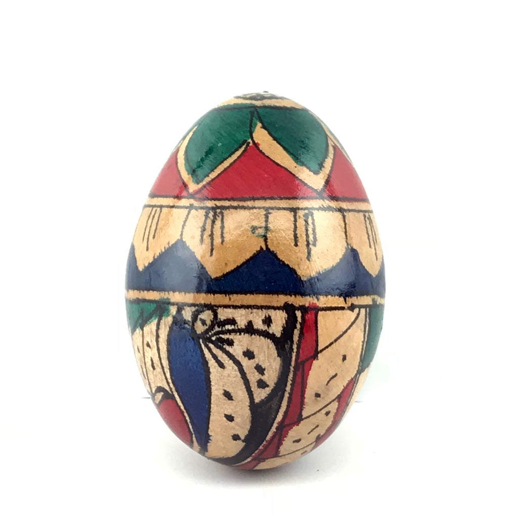 Hand Painted Wooden Egg Shaker/Maraca - Sabbat Box
