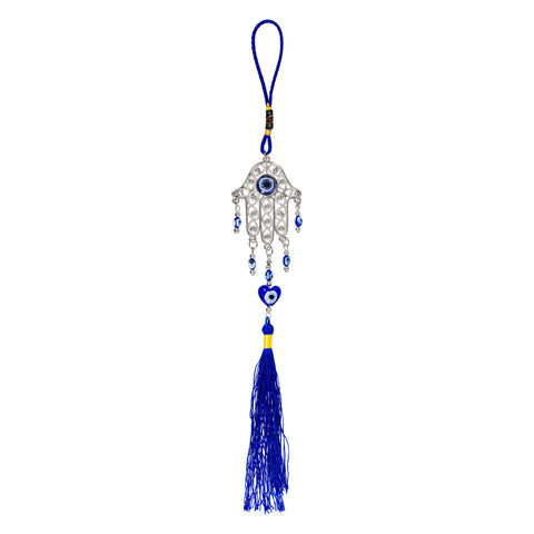 Evil Eye Hanging Home Protection Talisman - Hamsa Evil Eye Talisman