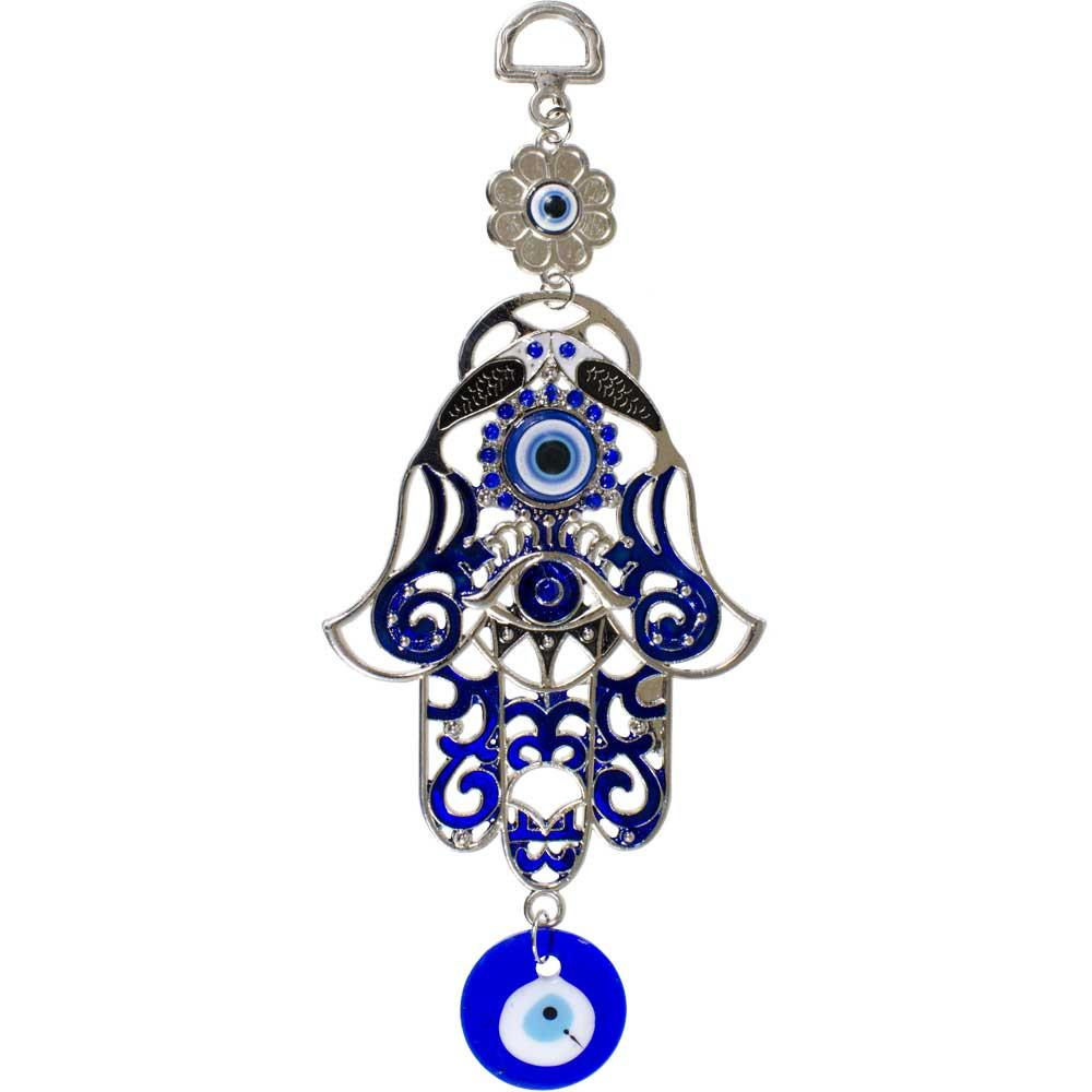 Evil Eye - Painted Fatima Hanging Home Talisman