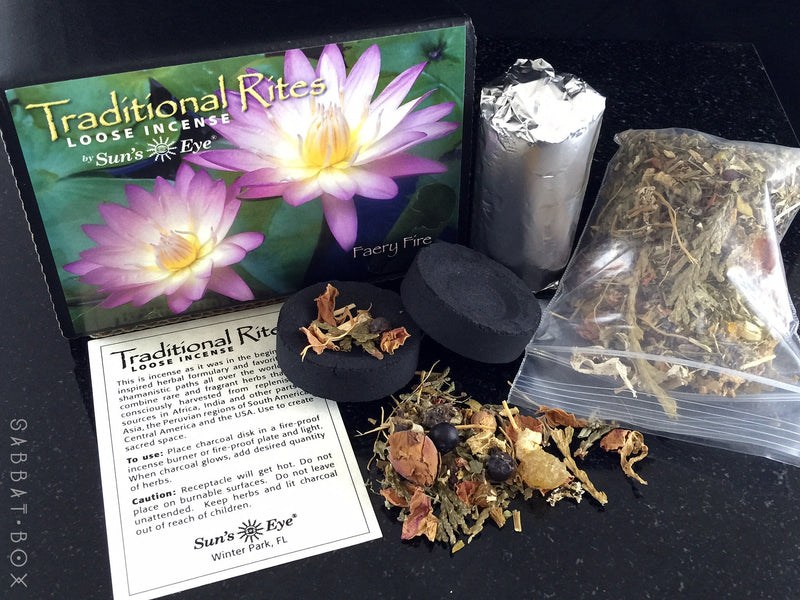Faery Fire Traditional Rites Loose Incense Kit