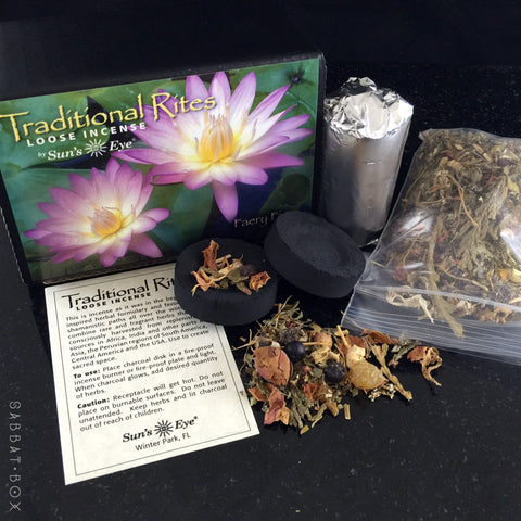 Faery Fire Traditional Rites Loose Incense Kit by Suns Eye