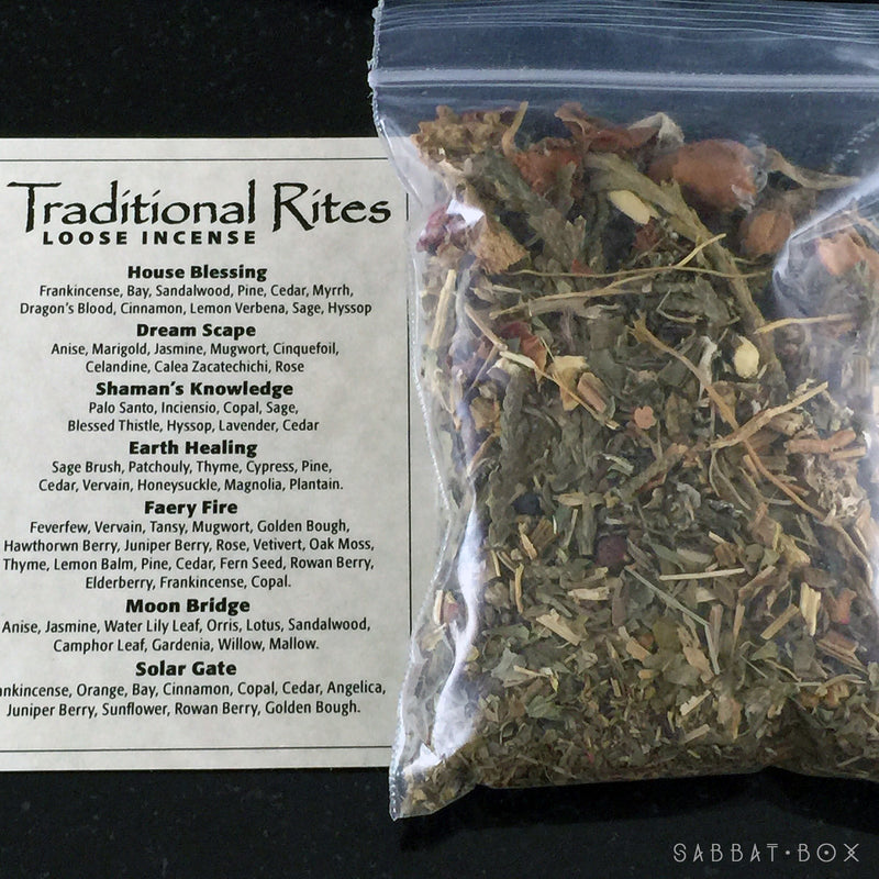 Faery Fire Ritual Incense Kit
