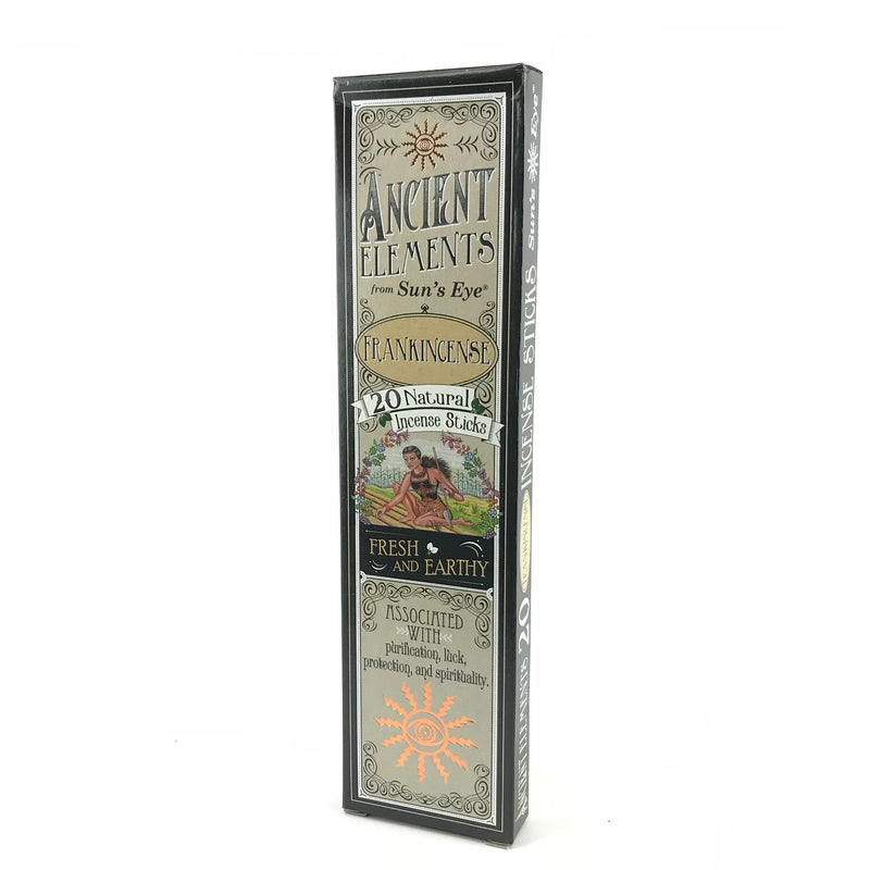 Frankincense Ancient Elements Stick Incense by Sun's Eye - Sabbat Box