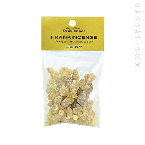 Frankincense Resin Incense .75 oz