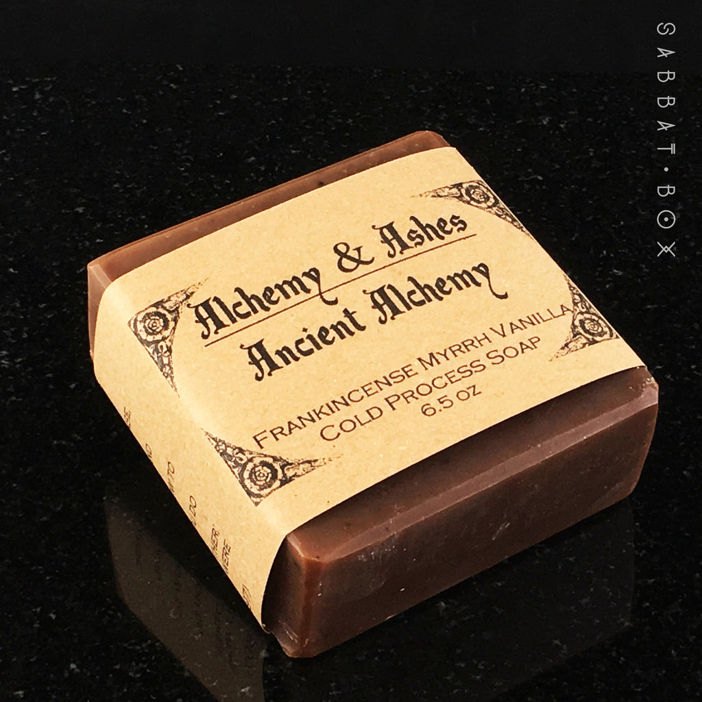 Alchemy and Ashes Frankincense and Myrrh Cold Process Soap