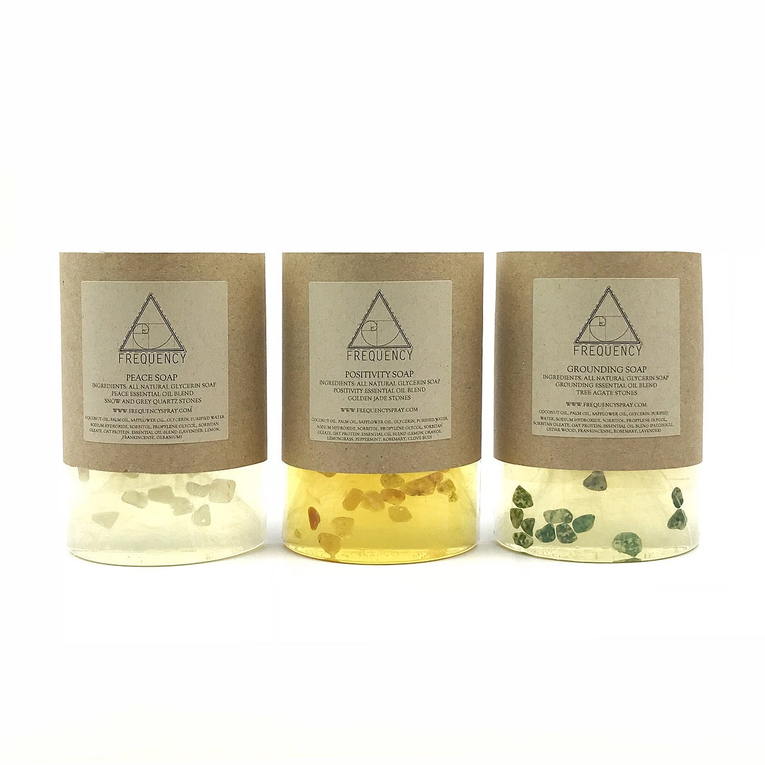 Peace Crystal Soap by Frequency