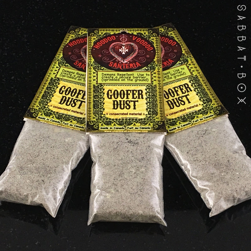 Goofer Dust Hoodoo Powder - Hoodoo Curio
