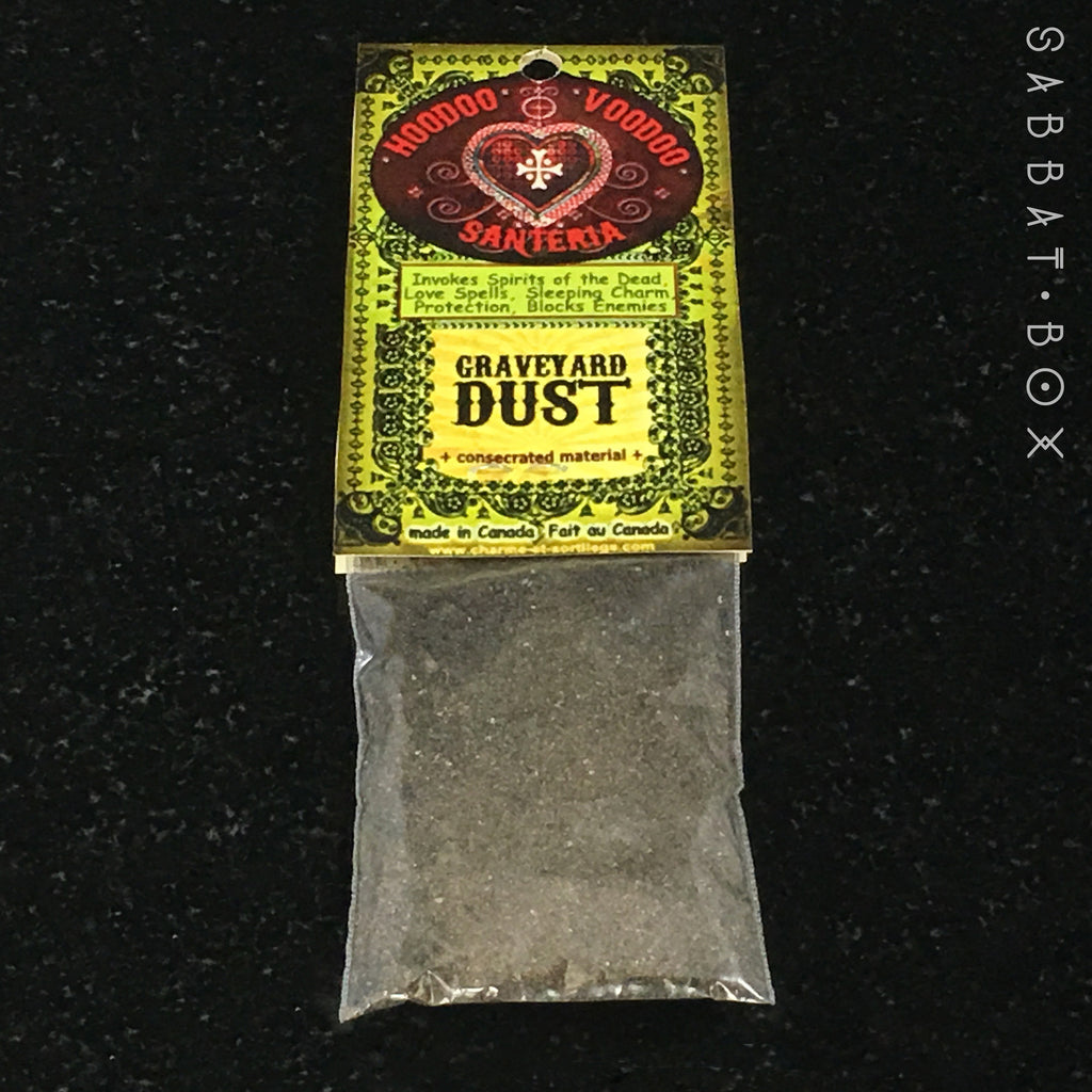 Graveyard Dust - 1oz Bag - Ritually Consecrated and Charged