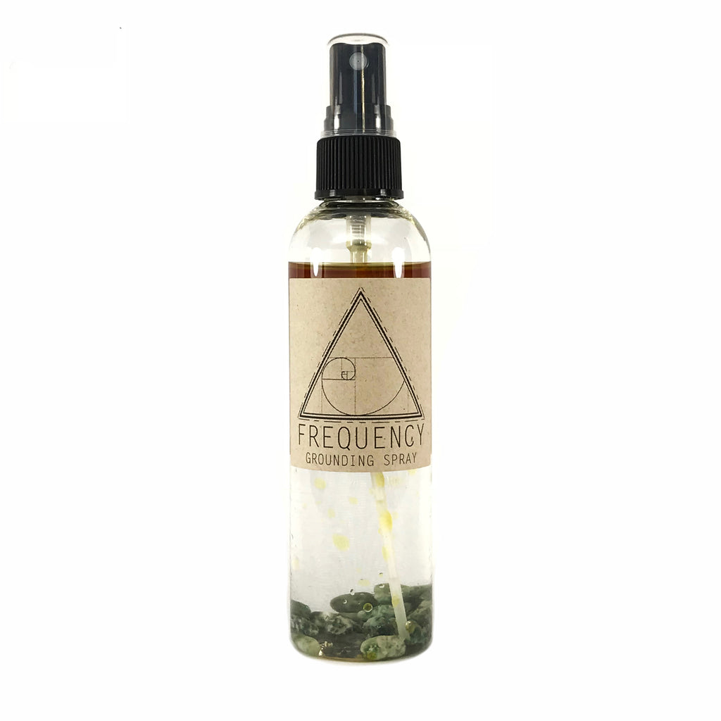 Grounding Smudge and Aura Spray By Frequency - 4oz.- Sabbat Box