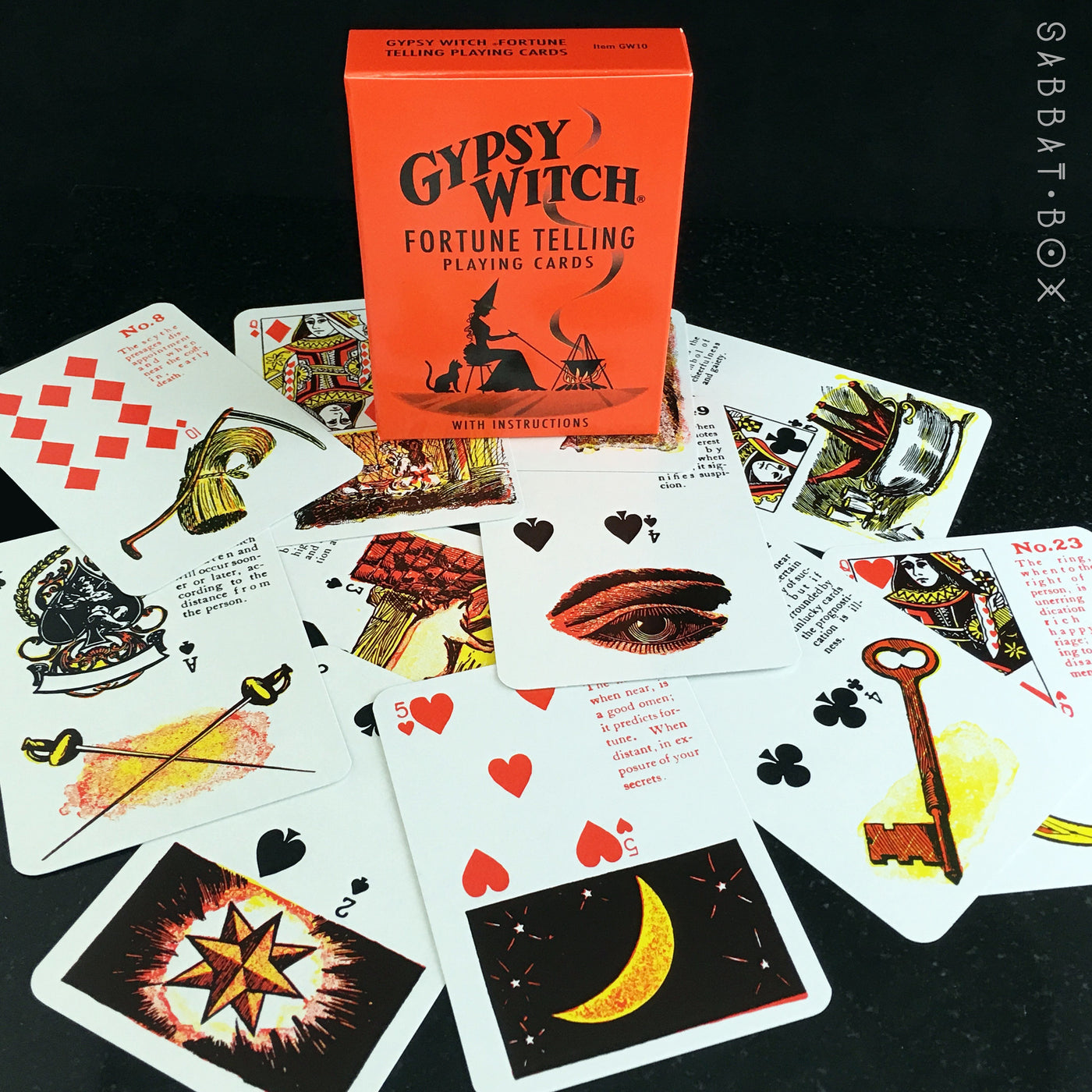 Gypsy Witch Fortune Telling Cards ...