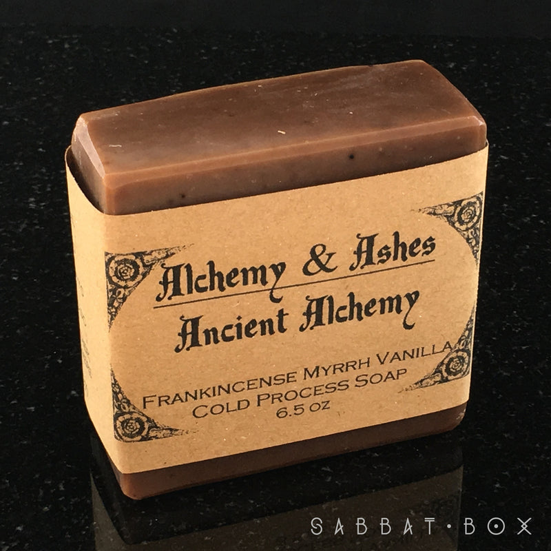 Frankincense and Myrrh Cold Process Soap By Alchemy and Ashes