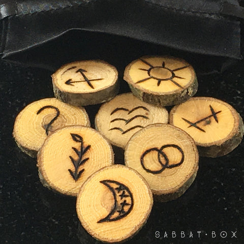 Witches Runes - Handmade Witches Runes