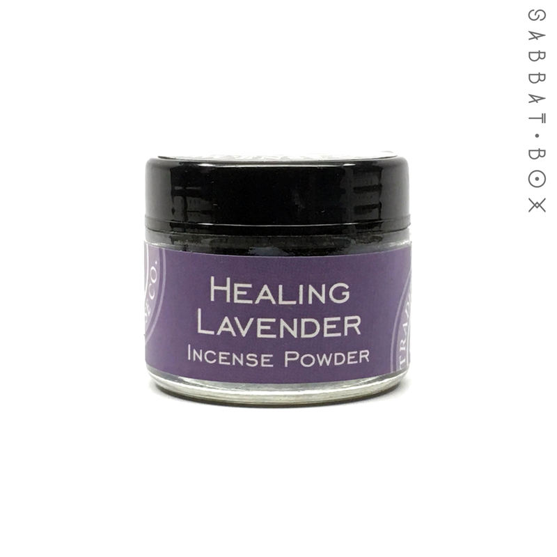 Healing Lavender Incense Powder - 3.5 oz