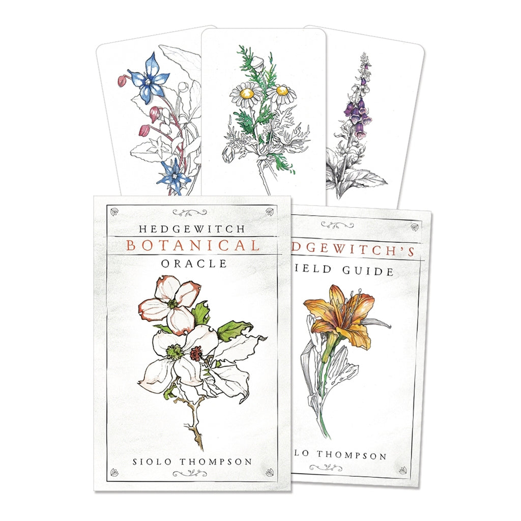Hedgewitch Botanical Oracle Deck and Book Set By Siolo Thompson