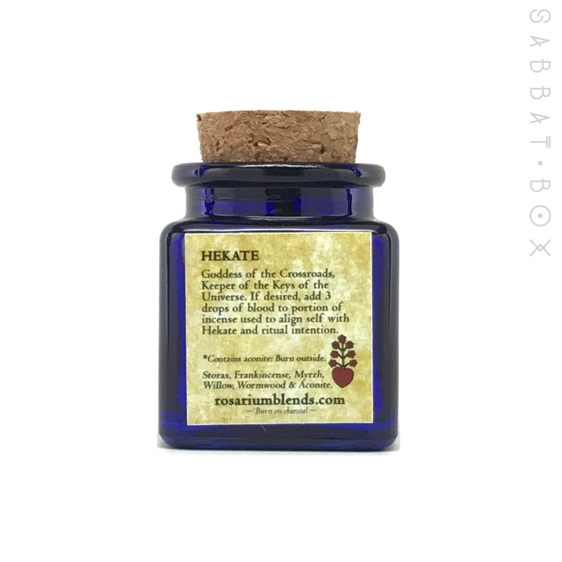 Hekate Incense By Rosarium Blends