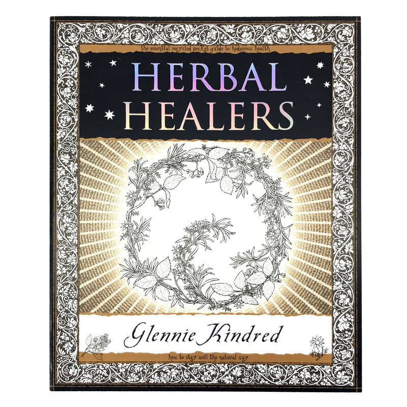 Herbal Healers By Glennie Kindred - Wooden Books - Sabbat Box